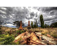 A Day Best Forgotten  ~ remnants of 2003 Canberra Fires ~ Photographic Print