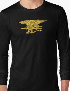 Navy SEALs Emblem Long Sleeve T-Shirt