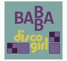 BABBA - Disco Girl (sticker) by SwiftWind