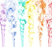 Rainbow Smoke 2 by Michael Clarke