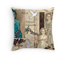 Precious Memories of my Aunt Alice Throw Pillow