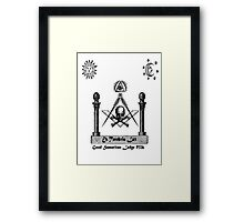 Brother hood Framed Print