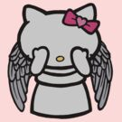 Hello Kitty Weeping Angel by Paul Spence