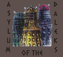 Asylum of the Daleks T-shirt by gothscifigirl