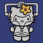 Hello Kitty Cyberman by Paul Spence