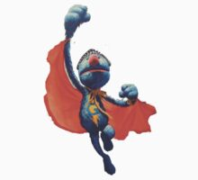 Super grover by paradoxwhirl