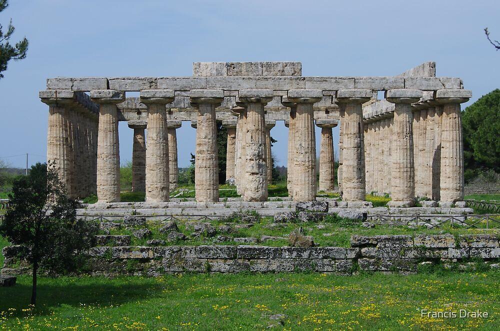 Temple of Hera - Paestum by Francis Drake