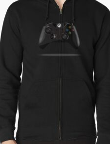 Xbox ONE Controller Cartoonified Zipped Hoodie