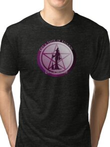 Get a taste of religion, lick a witch! Tri-blend T-Shirt