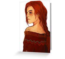 Ginny Weasley Greeting Card