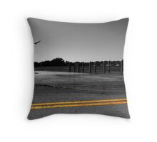 Above the flood  Throw Pillow
