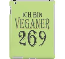 Ich bin Veganer - 269 iPad Case/Skin
