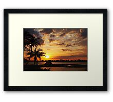They sing your praises Framed Print