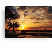They sing your praises Canvas Print