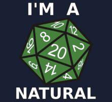 Natural 20 Baby Tee