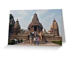 Lakshmana Temple Khajuraho AD 930-950 Greeting Card