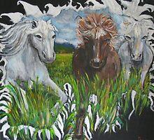 Horses by eliso silva