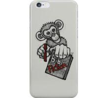Monkey Bible Fiction iPhone Case/Skin