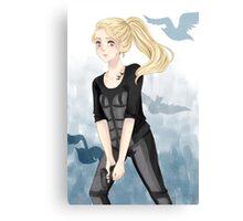 Tris Prior - Divergent Canvas Print