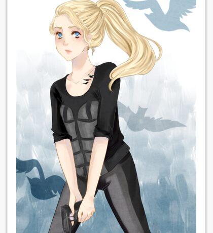 Tris Prior - Divergent Sticker