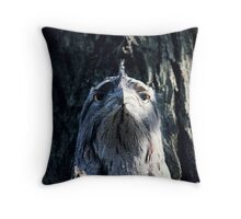 Unimpressed Tawny Throw Pillow