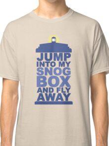 Snog Box (Tardis) Classic T-Shirt