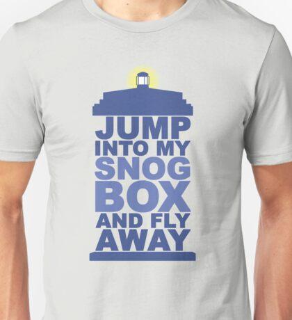 Snog Box (Tardis) Unisex T-Shirt