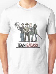 Team badass the walking dead Unisex T-Shirt