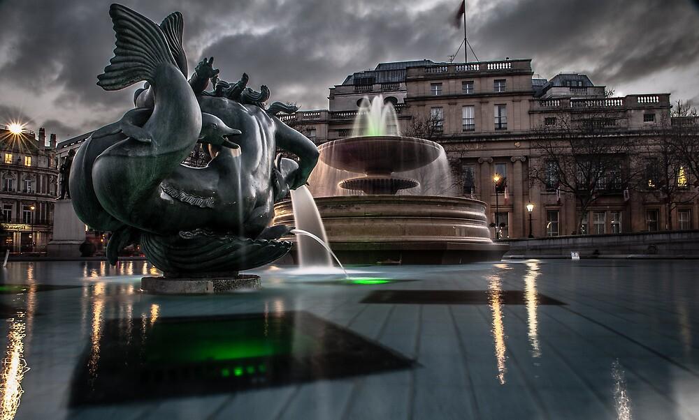 Trafalgar Square by Thasan
