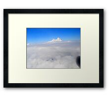 Above Sky Framed Print