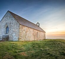 St. Cwyfan's Sunset by Smart Imaging by SmartImaging
