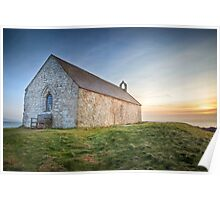 St. Cwyfan's Sunset by Smart Imaging Poster