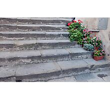 Stone Steps Made New Photographic Print