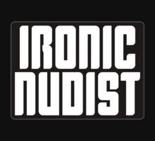 Ironic Nudist by Kobi-LaCroix
