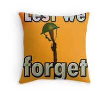 LEST WE FORGET PR> Throw Pillow