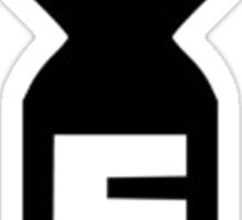 F-Bomb Sticker - BLACK  Sticker