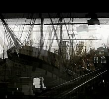 Slippery in the Harbor by Galen  Bullington