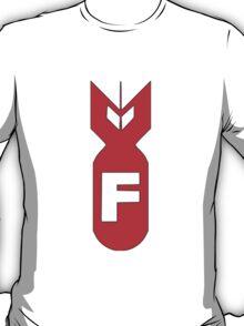 F-Bomb Sticker - RED T-Shirt