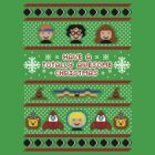 Totally Awesome Ugly Christmas Sweater + Card by rydiachacha