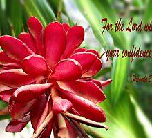Prov.3:26a by mariatheresa