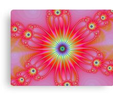 Fractal Flower Canvas Print