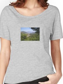 Landscape Of Icmeler Marmaris Turkey From Mountain Road Women's Relaxed Fit T-Shirt