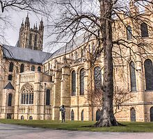 Canterbury Cathedral by Ian Hufton