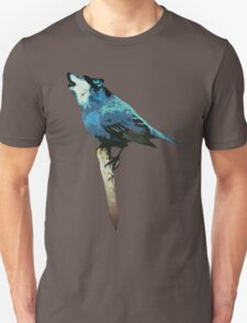 Word - Wolf-Bird Unisex T-Shirt