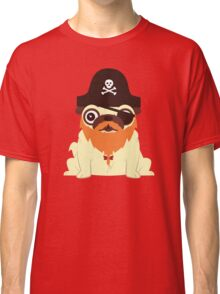 Pug in a crew Classic T-Shirt