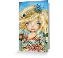Nature Girl Greeting Card