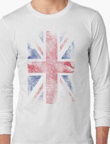 Union Jack - Flag Great Britain - Vintage Look Long Sleeve T-Shirt
