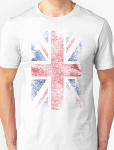 Union Jack - Flag Great Britain - Vintage Look T-Shirt