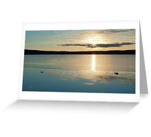 Lochindorb Sunset Greeting Card