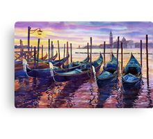 Italy Venice Early Mornings Canvas Print